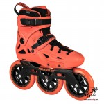 Rolki Powerslide Imperial Megacruiser Neon Orange 3x125mm model 2018