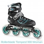 Rolki Rollerblade Tempest 100 Carbon Woman