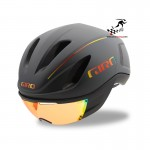 Kask na rolki rower GIRO VANQUISH MIPS 2018 matte black fire chrome roz M od 55cm do 59cm