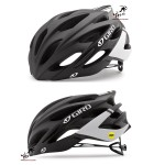 Kask na rolki, rower GIRO SAVANT MIPS matte black white, roz. od 55cm do 59cm. Model 2018