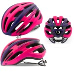 Kask na rolki, rower GIRO SAGA MIPS matte bright pink, roz. od 51cm do 55cm. Model 2018