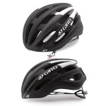 Kask na rolki, rower GIRO FORAY matte black white, roz. od 59cm do 63cm. Model 2018