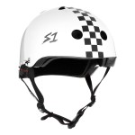 Kask S1 Lifer White Gloss Black Checkers
