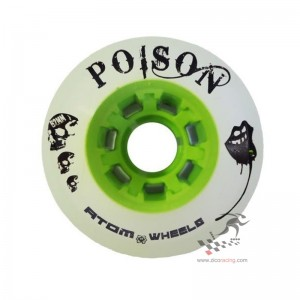 Kółka do wrotek Atom Poison 62mm x 44mm, 4 sztuki