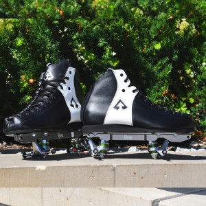 Buty wrotkarskie Antik MG2 r. 45 + plate PowerDyne Rival