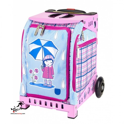 Torba Zuca Mini Rainy Day Bag z Pink Snack Pouch szkielet Mini różowy