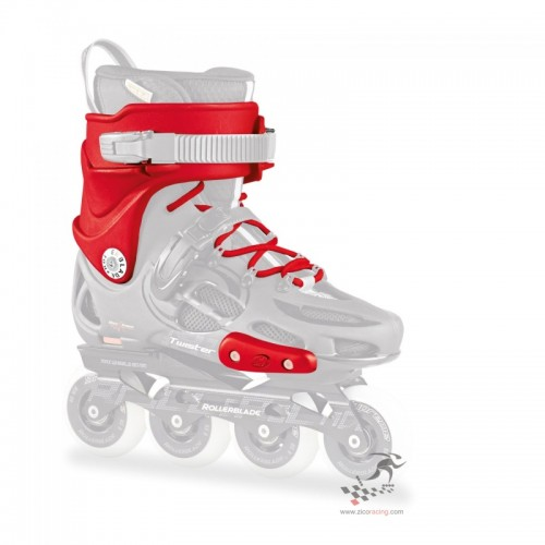 Rollerblade Twister Custom Kit - red, czerwony