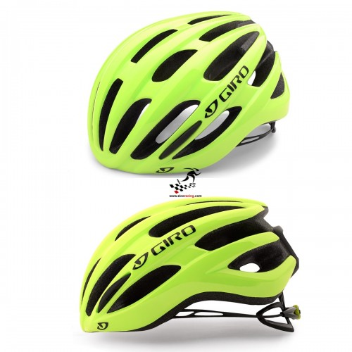 Kask na rolki rower GIRO FORAY MIPS highlight yellow, r. 51cm - 55cm. Model 2018