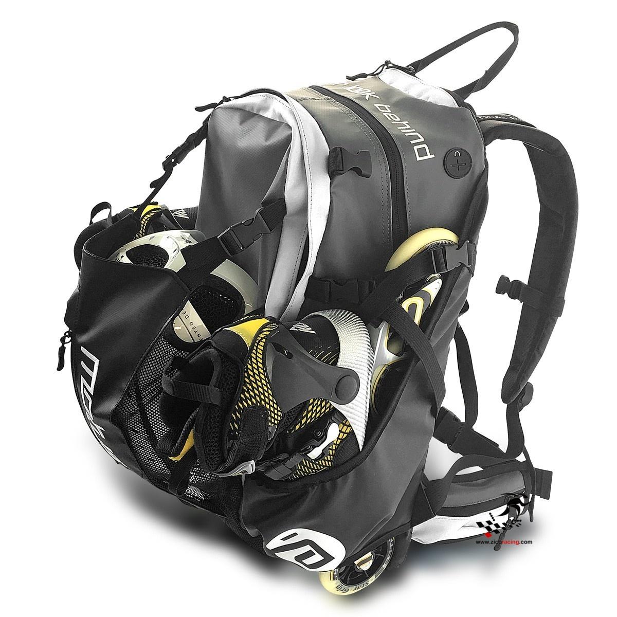 9cc500c083574 Plecak na rolki i łyżwy CadoMotus Air & Waterflow czarny Zico Racing ...